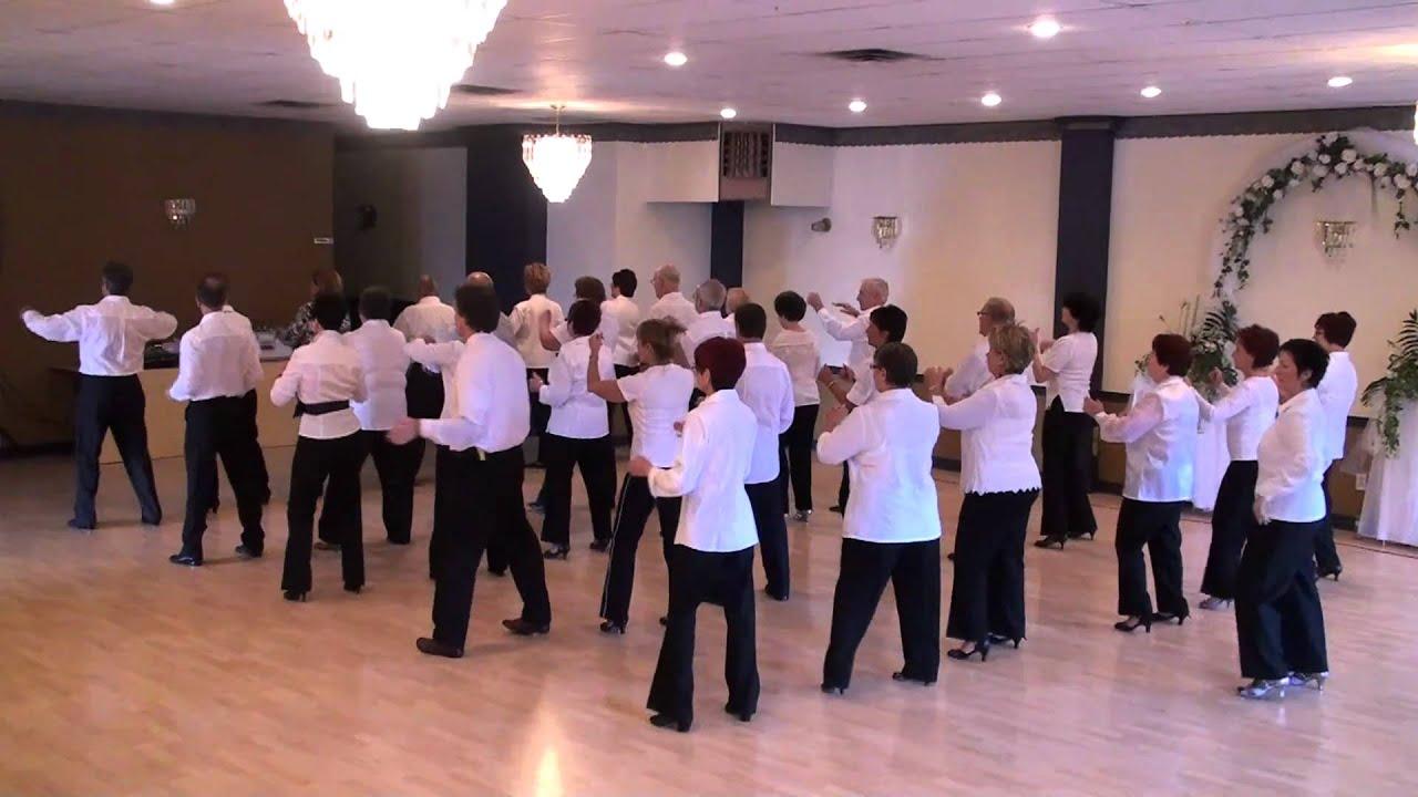 SBS SHUFFLE BOOGIE SOUL LINE DANCE MONTREAL CANADA HD