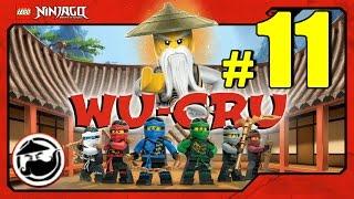 LEGO Ninjago WU-CRU Прохождение Игры Лего Ниндзяго на русском - 11 серия - ГОЛОГРАФИЧЕСКАЯ ЗАПИСЬ