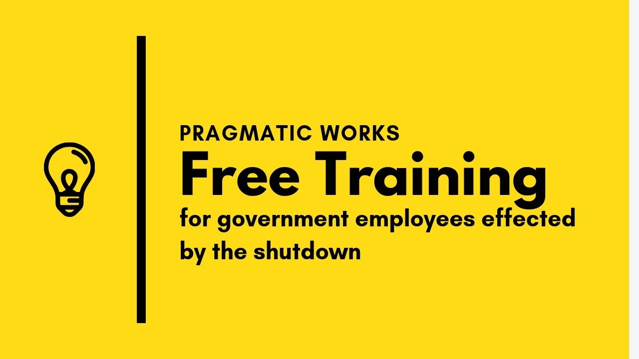 Free Training for Government Employees Effected by the
