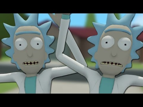 DON'T SHOOT THE REAL RICK! - Rick and Morty: Virtual Rickality FINALE (Oculus Rift VR)