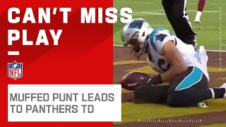 Panthers Take the Early Lead on Muffed Punt Recovery!