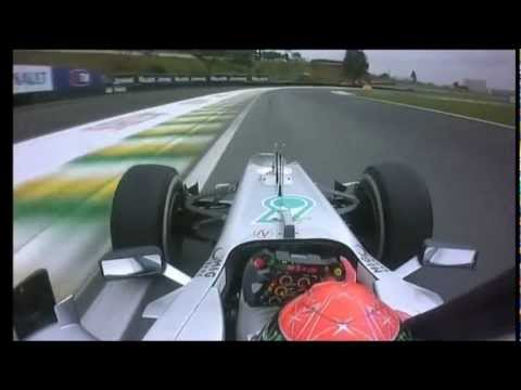 "Michael Schumacher - Sao Paulo ""Lap of Honor"""