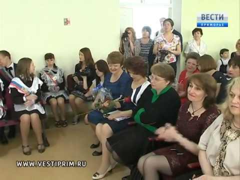 Игорь Пушкарев посетил Последний звонок в школе в Снеговой Пади