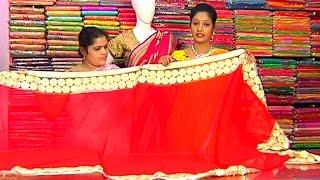 Party Wear Designer Satin Crepe Saree || New Arrivals || Vanitha TV