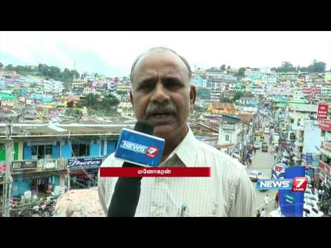 Construction of new buildings violate law in Coonoor | News7 Tamil
