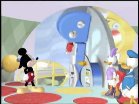 La casa de mickey mouse mickey en el pa s de las maravi - La mickey danza ...