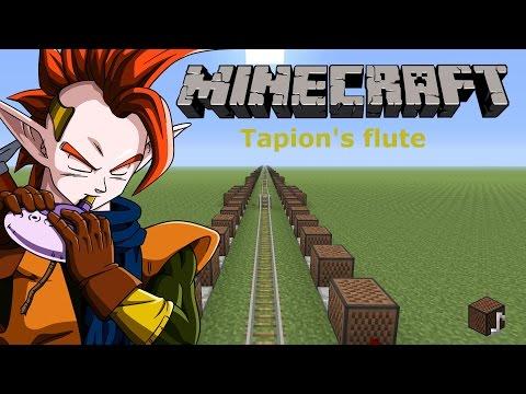 minecraft note blocks: tapion's flute