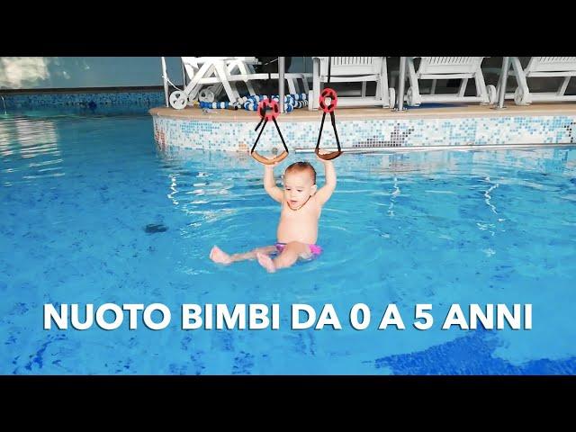 Come insegnare ai bambini piccoli a nuotare: nuoto bimbi da 0 da 5 anni
