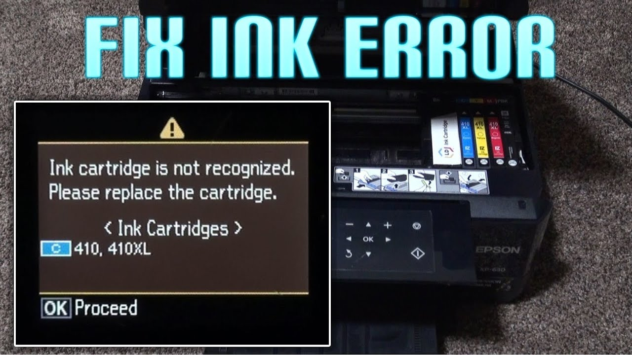 How To Downgrade Epson XP Printer Firmware (Fix Ink Not Recognized