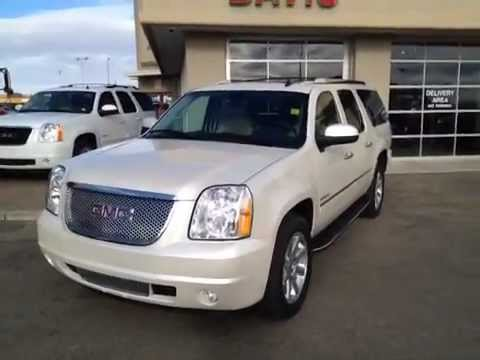 2011 GMC Yukon XL 1500 Denali | White SUV for sale | Davis GMC Buick