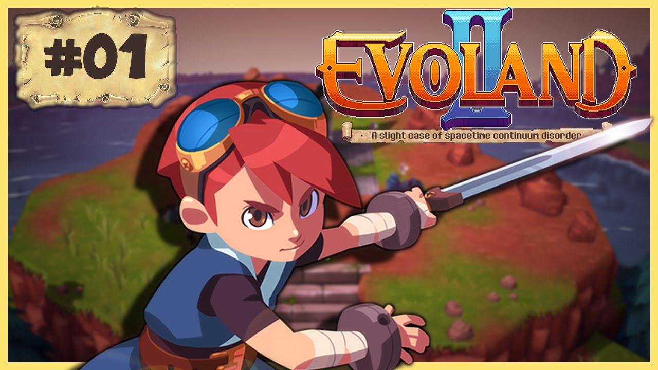 Evoland II #01 : RETOUR FÉERIQUE !