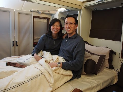 Singapore Airlines Suites (First) Class - Singapore to Tokyo