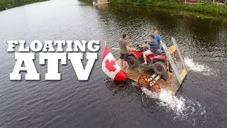 How to make a FLOATING ATV