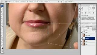 Урок Фотошоп - Возрастная ретушь.