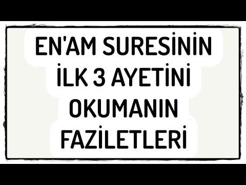 Ahmet Demir   Enam Suresi 1 8  Ayetleri