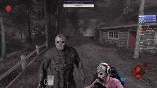 Friday the 13th: The Game - Джейсон из 4 части фильма! Убиваем всех!