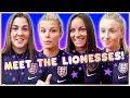 ⚽️WE MET THE LIONESSES | Women's World Cup 🏆
