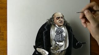 Penguin (Danny DeVito) Batman Returns - Drawing  3D Art