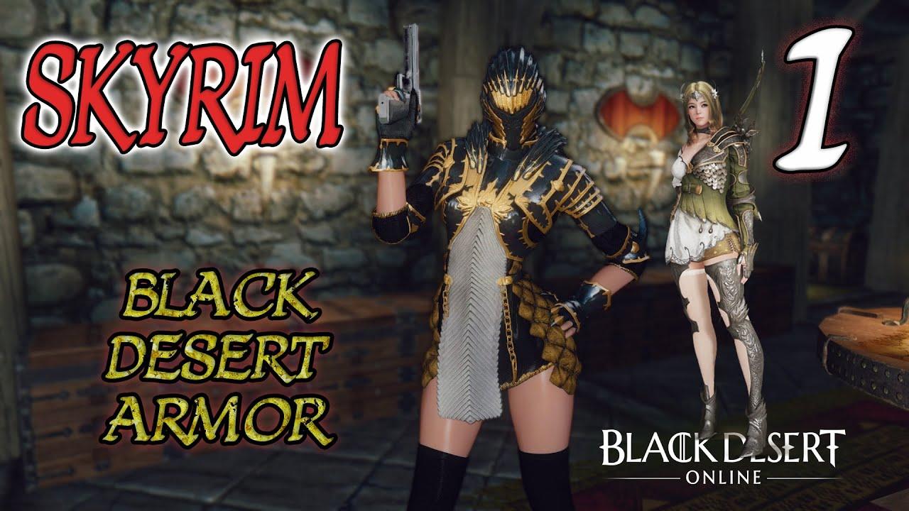 Download SKYRIM ARMOR MOD #1 BLACK DESERT ZIRHLARI