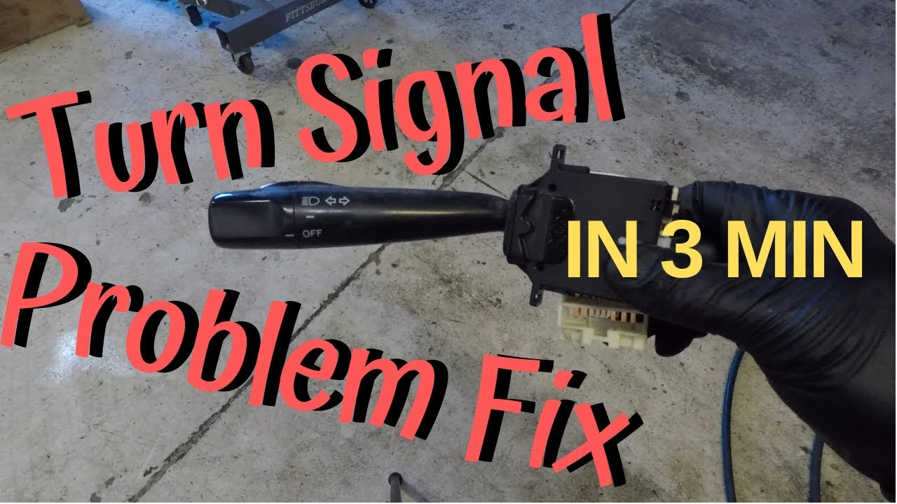 Turn Signal Problem Diagnosis   Turn Signals Not Working