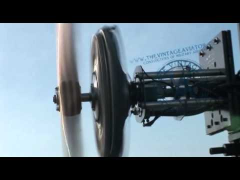 Oberursel UR-II Rotary Engine