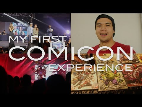 AsiaPOP Comicon Manila 2017 - My First Comicon Experience