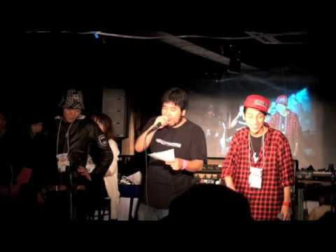 QuarterFinal HIKAKIN vs I-BEAR' - FUN外伝 BEATBOX  BATTLE 2009