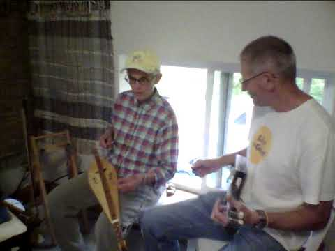 Golden Slippers on Appalachian dulcimer and tiny guitar