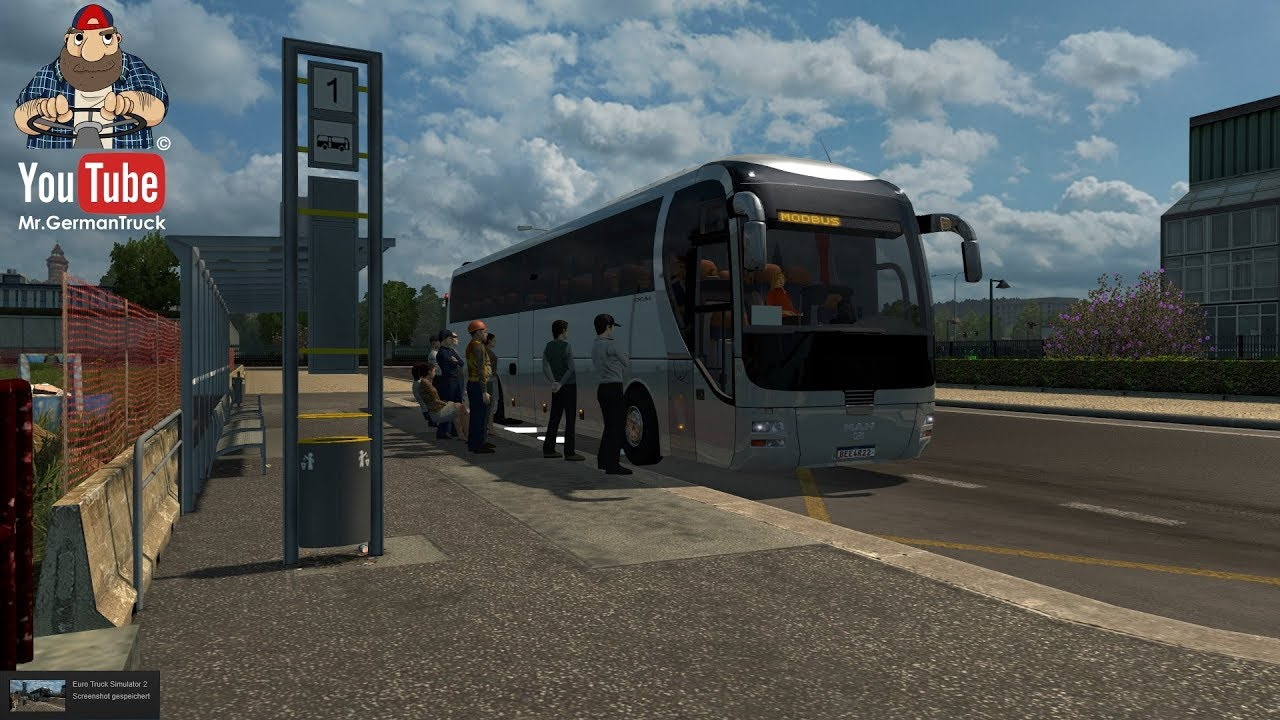 [ETS2 v1 31] Bus Simulator goes to ETS2 *Bus Station Mod*