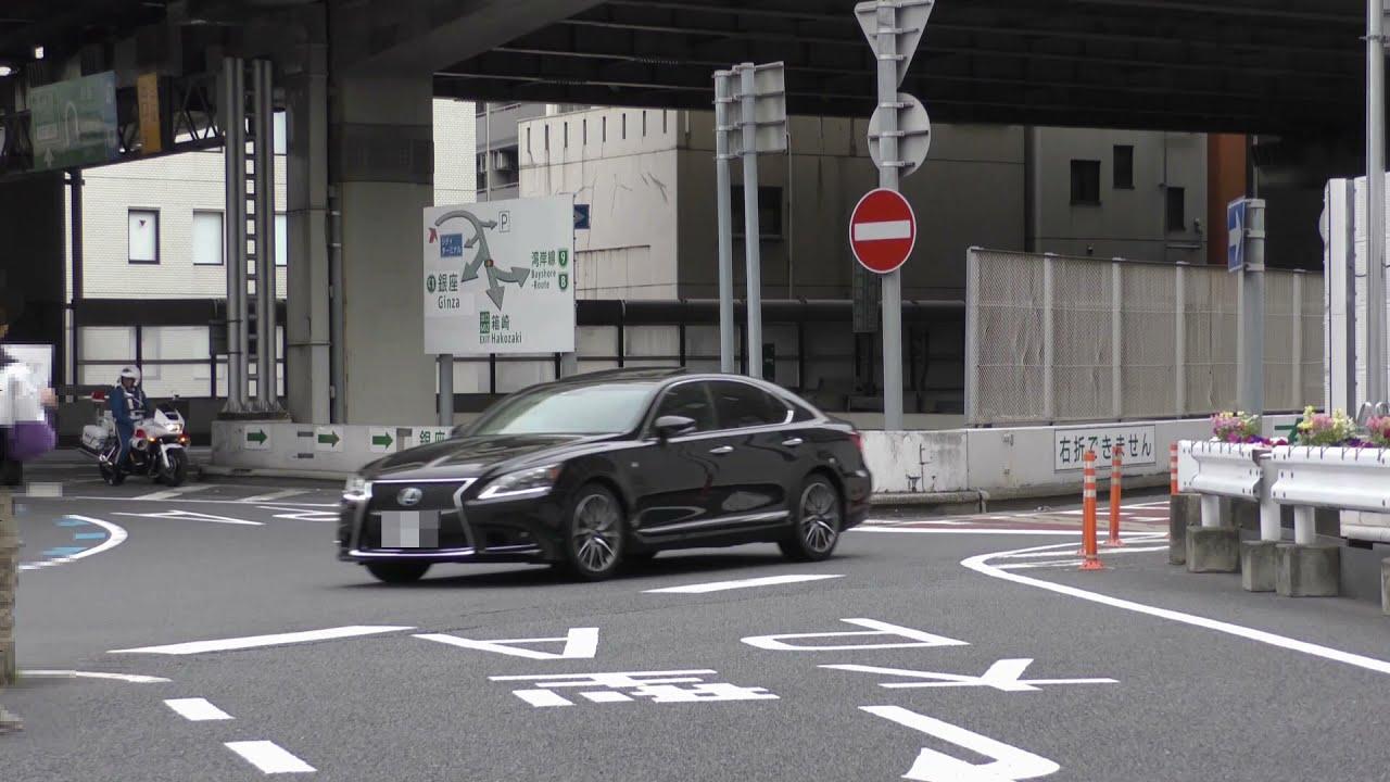 【警察】ヒッチハイカーと一時不停止を取り締まる白バイ 前編