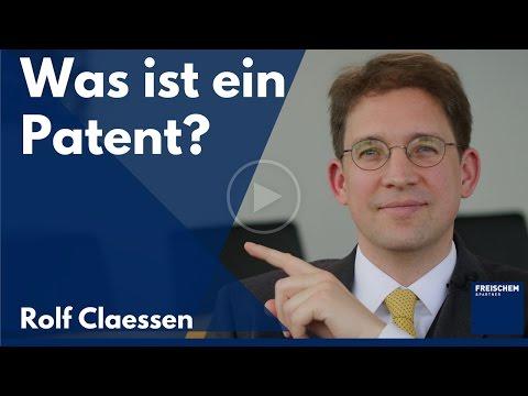 Was Ist Ein Patent? #patent