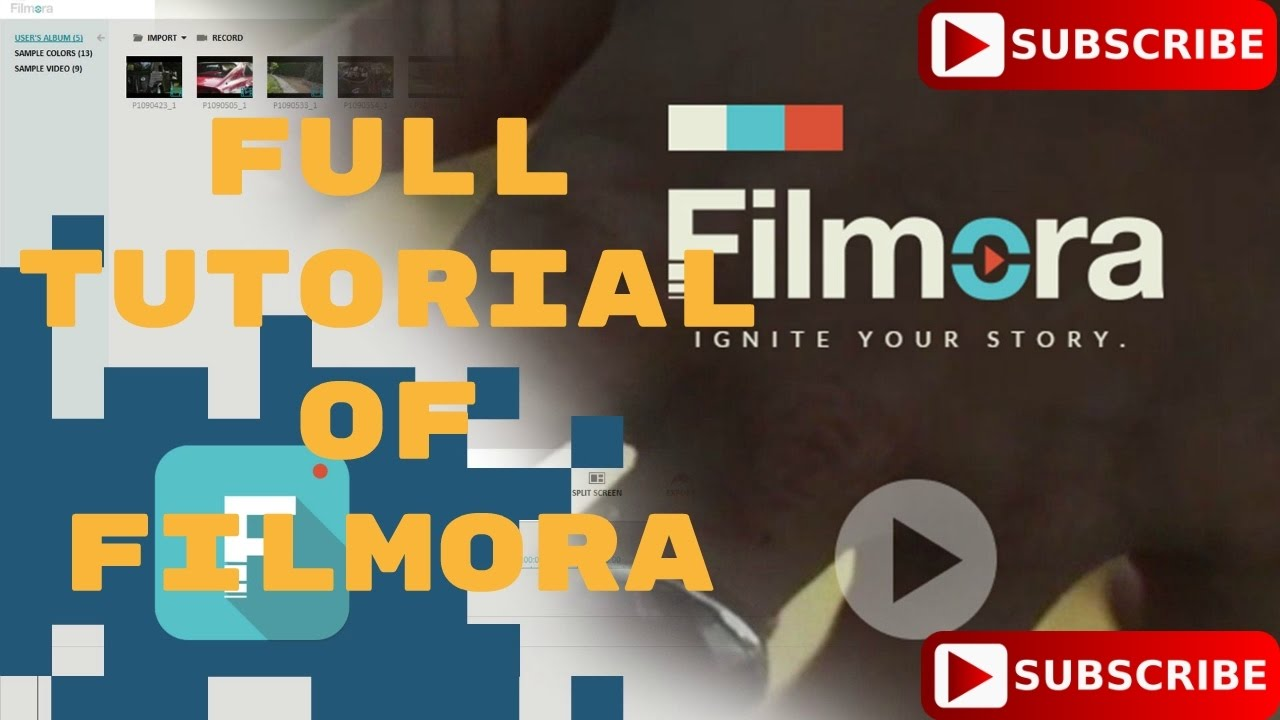 how to use filmora for free