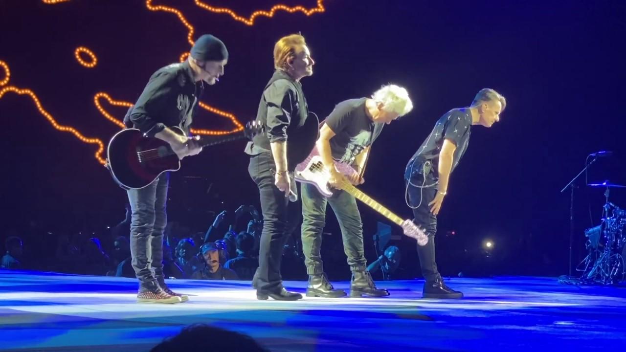 U2 Mothers Of The Disappeared Saitama Super Arena Saitama Japan 2019 12 04