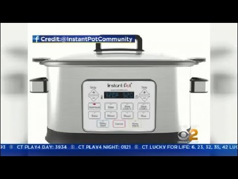 Instant Pot Models Recalled For Overheating & Melting