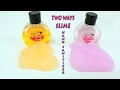 2 Ways to make Slime Hand Sanitizer, How to make Slime with Hand Sanitizer  - How to make slime