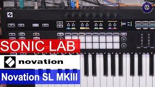 Exclusive: Novation SL MKIII  MIDI Controller - Presentation