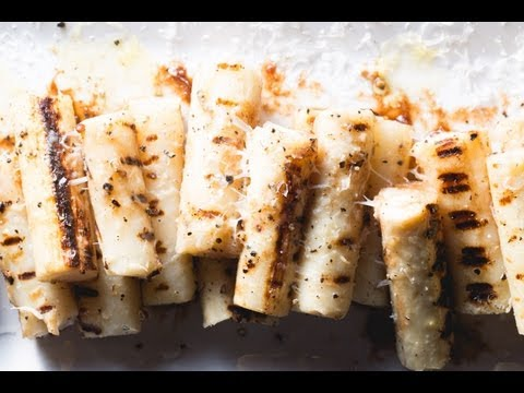 Grilled Hearts of Palm