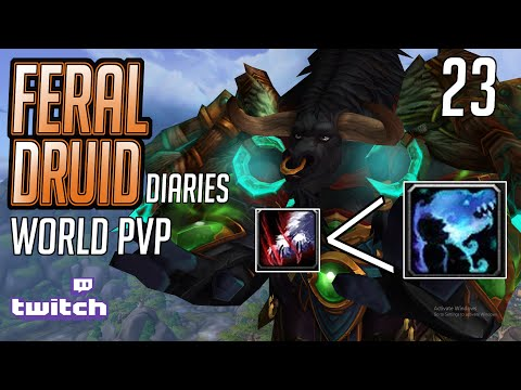 NO to the 2 SHOT BUILD  | 478  ilvl Feral Druid | 8.3 World PVP