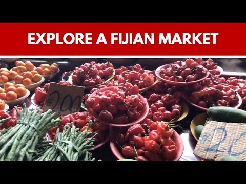 WOW! The markets in Fiji are AMAZING!