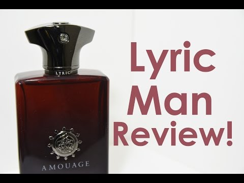 LYRIC MAN by AMOUAGE FRAGRANCE REVIEW | CascadeScents