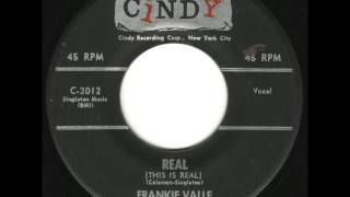 Frankie Valli & The Romans - This Is Real - Excellent Doo Wop Ballad