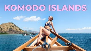 BALI to KOMODO ISLANDS! 2 day sailing tour of INDONESIA