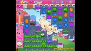 Candy Crush Saga - Level 1690 (3 star, No boosters)