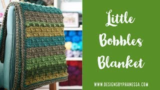 Tunisian Little Bobble Blanket FREE Pattern & Tutorial