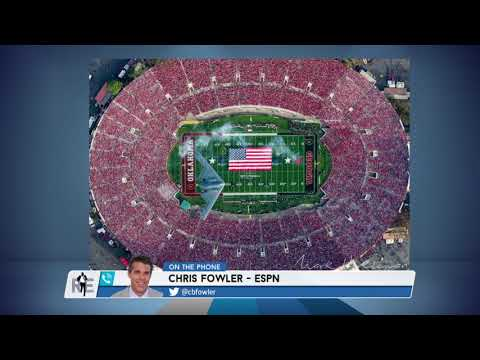 ESPN Broadcaster Chris Fowler on Why The Rose Bowl is So Special - 1/5/18
