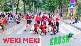 [KPOP IN PUBLIC CHALLENGE] WEKI MEKI (위키미키) - CRUSH (크러쉬) Dance Cover By C.A.C from Vietnam