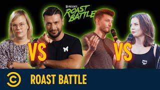 Roast Battle – Martina vs. Cüneyt + Maria Clara vs. Jan