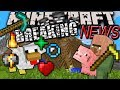 Minecraft 1.8 News: Villagers Work Farms, Auto-Wither & Golem, Particles, Mossy Cobble, New Skins