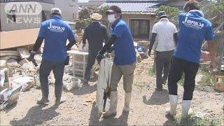 岡山・倉敷市 猛暑で作業打ち切り 人手不足に拍車(18/07/21) thumbnail