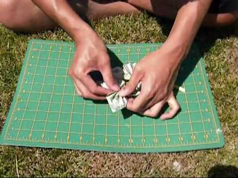 How to make butterfly money lei 2 versions youtube for Diy to make money